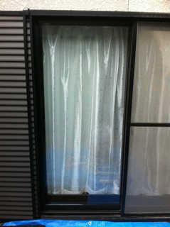 5ミリ透明ガラス 施工後