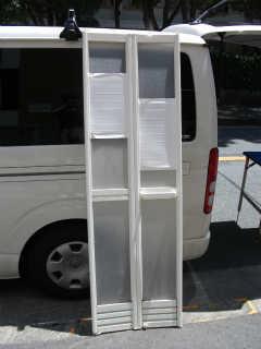 浴室ドア用樹脂パネル(2�_厚) 施工前
